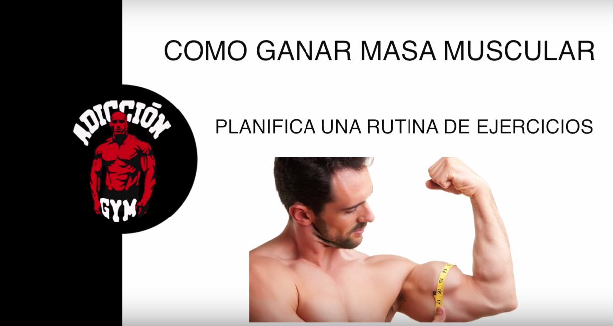Como Ganar Masa Muscular Rápido